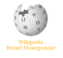 Wikipedia brand management