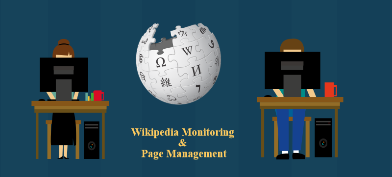 Wikipedia Monitoring and Page Management