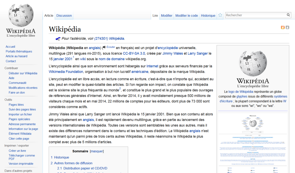 Wikipedia English Translation