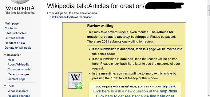 Get An Article Approved By Wikipedia