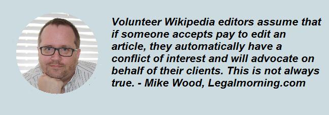 Wikipedia paid advocacy