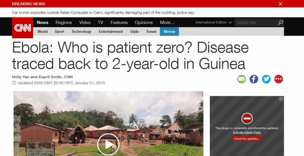 Ebola CNN reference