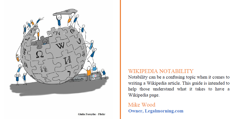 Guide to Wikipedia Notability Hire A Wikipedia Editor