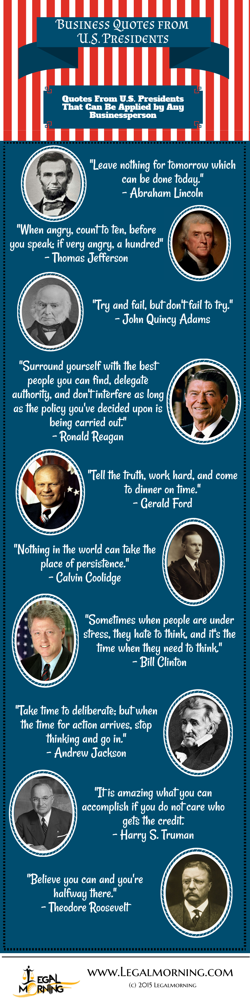 Business Quotes from U.S. Presidents-1