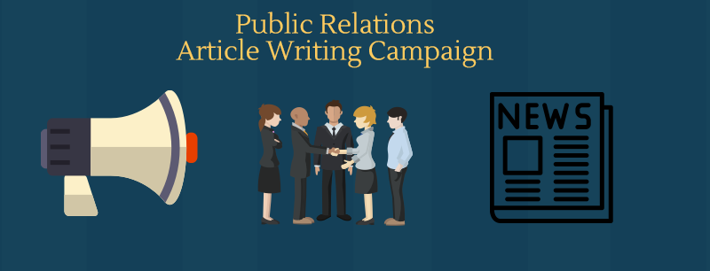 Public Relations Article Writing Campaign