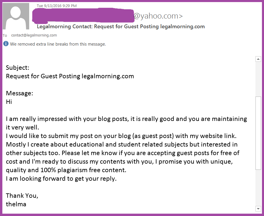 The Worst Guest Post Pitches Ever: Why Do You Still Send These
