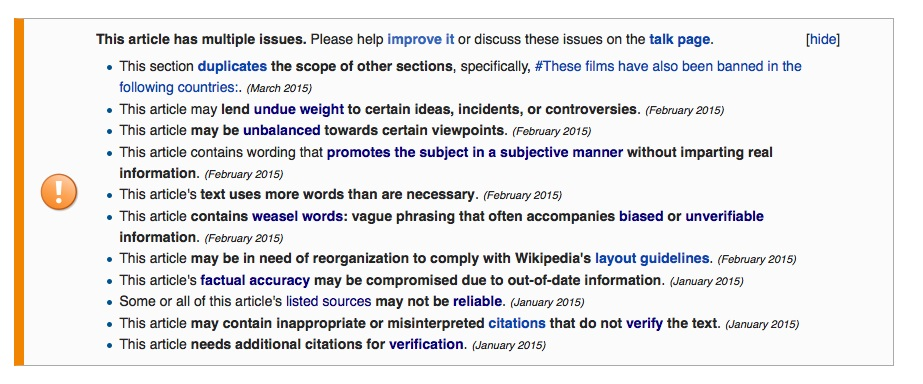 Cleaning Up A Company Wikipedia Page Is Easier Than You Think