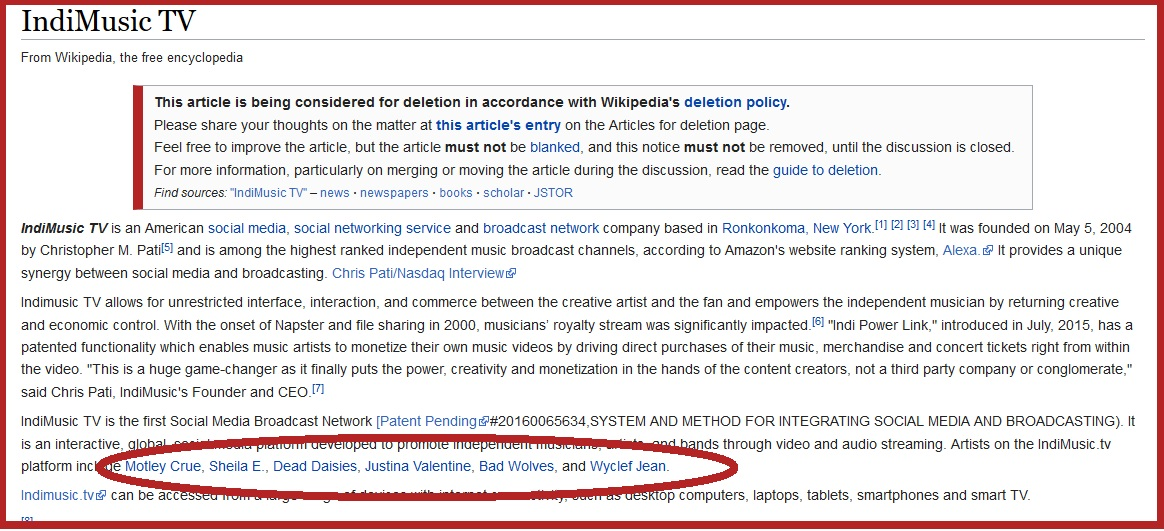 Your Wikipedia Page is Too Promotional: Here Is Why
